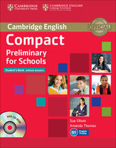 Compact preliminary for schools. Student's book. Without answers. Con CD Audio. Con espansione online