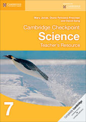 Cambridge Checkpoint Science. Teacher's Resource Book CD-ROM 7
