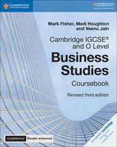 Cambridge IGCSE and O Level Business Studies. Coursebook. Con espansione online. Con CD-ROM