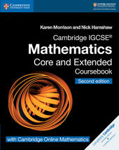 Cambridge IGCSE Mathematics core and extended coursebook. Con espansione online. Con CD-ROM