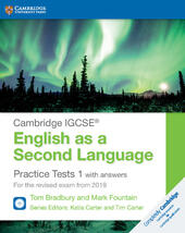 Practice tests for IGCSE English as a second language. With answers. Con espansione online. Con 2 CD-Audio. Vol. 1