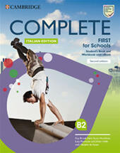 Complete First for schools. Student's book/Workbook. Con INVALSI B2. Con e-book