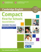 Compact first for schools. Student's book. Without answers. Con e-book. Con espansione online