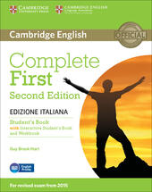 Complete first. Student's book. Without answers. Con e-book. Con espansione online