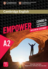 Cambridge English Empower. Level A2 Combo A with online assessment