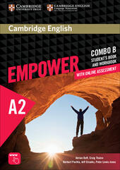 Cambridge English Empower. Level A2 Combo B with online assessment  - Adrian Doff, Craig Thaine, Herbert Puchta Libro - Libraccio.it