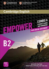 Empower B2. Upper intermediate. Combo A. Con espansione online