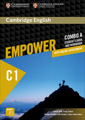 Empower C1. Advanced. Combo A. Con e-book. Con espansione online