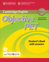 Objective PET. Student's book. With answers. Con CD-ROM