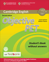 Objective PET. Student's book without ansewrs. Con espansione online