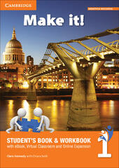 Make it! Student's book-Workbook-Companion book. Con e-book. Con espansione online. Vol. 1