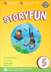 Storyfun for Starters, Movers and Flyers. Flyers 1. Teacher's Book with Audio mp3. Con File audio per il download
