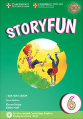 Storyfun for Starters, Movers and Flyers. Flyers 2. Teacher's Book with Audio mp3. Con File audio per il download