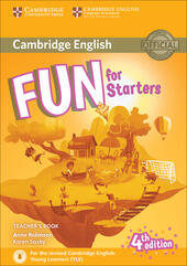 Fun for starters. Teacher's book. Con File audio per il download