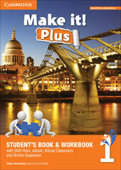 Make it! Plus level 1. Student's book-Workbook. Con DVD-ROM. Con e-book. Con espansione online