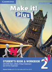 Make it! Plus level 2. Student's book-Workbook. Con DVD-ROM. Con e-book. Con espansione online