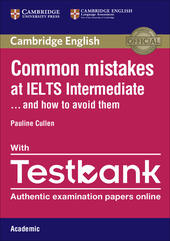 Common Mistakes at... IELTS. and how to avoid them. Intermediate. Paperback with Testbank Academic