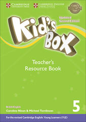 Kid's box. Level 5. Teacher's resource book. British English. Con File audio per il download