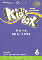 Kid's box. Level 6. Teacher's resource book. British English. Con File audio per il download
