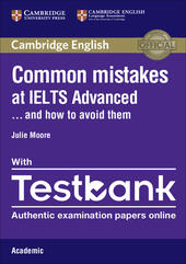 Common Mistakes at... IELTS. and how to avoid them. Advanced. Paperback with Testbank Academic