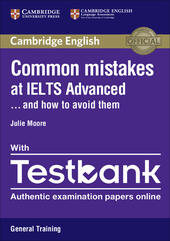 Common Mistakes at... IELTS. and how to avoid them. Paperback with Testbank Academic Testbank General Training