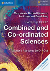 Cambridge IGCSE Combined and Co-ordinated Sciences. Teacher's Resource DVD ROM