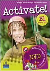 Activate! B1+. Grammar-Vocabulary book.
