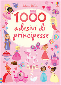Image of 1000 adesivi di principesse
