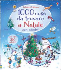 Image of 1000 cose da trovare a Natale. Con adesivi. Ediz. illustrata