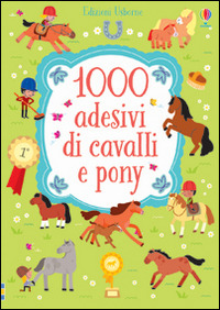 Image of 1000 adesivi di cavalli e pony