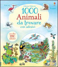 Image of 1000 animali da trovare. Con adesivi