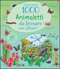 Image of 1000 animaletti da trovare. Con adesivi