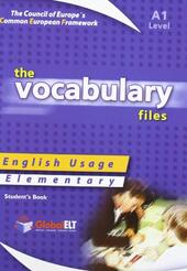 The vocabulary files. Level A1. Student's book. Con espansione online.