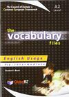 The vocabulary files. Level A2. Student's book. Con espansione online.