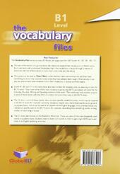 The vocabulary files. Level B1. Student's book. Con espansione online.