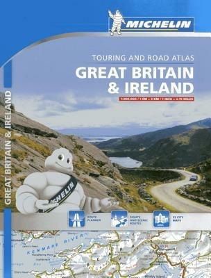 Image of Great Britain & Ireland. Touring and road atlas 1:300.000