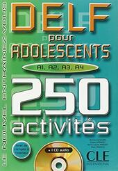 DELF POUR ADOLESCENTS A1-A2-A3-A4+CD