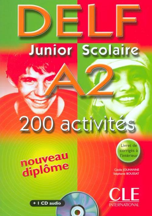 Image of Nouveau Delf. Junior et scolaire. A2. Per le Scuole superiori. Con..