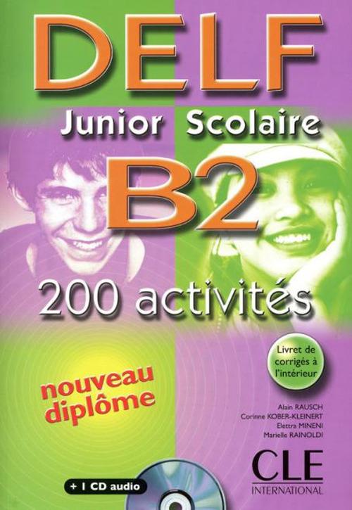 Image of Nouveau Delf junior scolaire. B2. Livret de corrigés-Transcription..