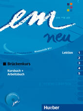 Em. Brückenkurs. Lektion 1-5. Kursbuch-Arbeitsbuch. Per il Liceo scientifico. Con CD Audio
