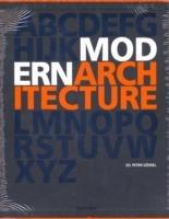 Image of Modern architecture A-Z. Ediz. inglese