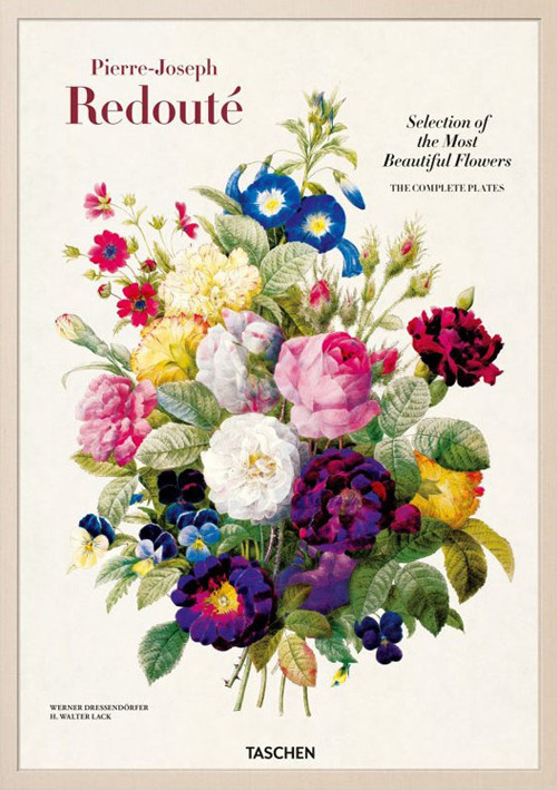 Redouté. Choix des plus belles fleurs. Ediz. italiana, spag..