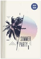 Diario 2019-2020 Summer Party, 17 mesi, settimanale Alpha Edition Collegetimer large