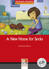 A New Home for Socks. Livello 1 (A1). Con CD-ROM