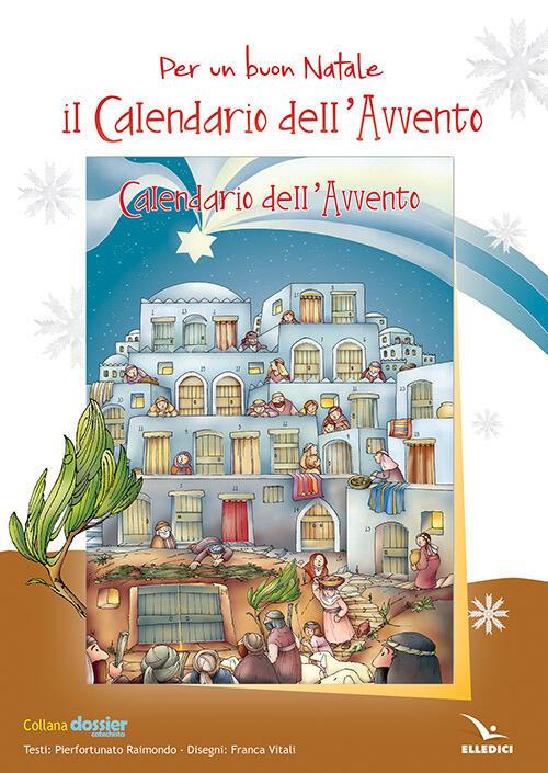 Il Calendario Dellavvento.Per Un Buon Natale Il Calendario Dell Avvento Poster