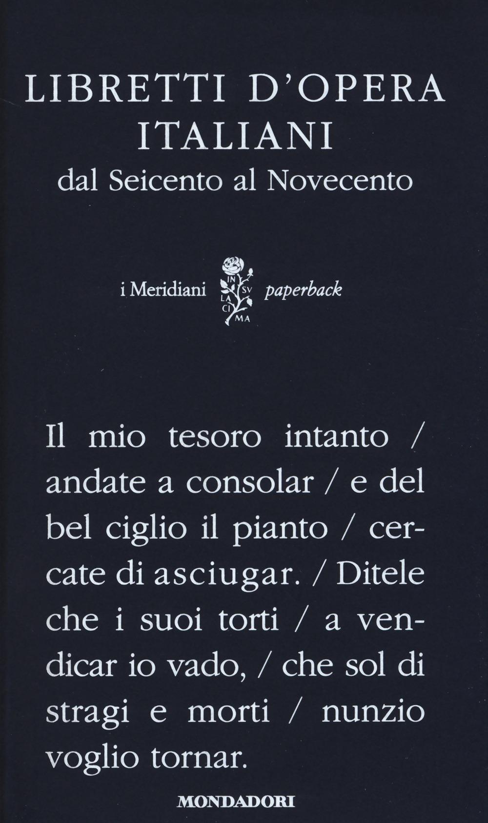 Image of Libretti d'opera italiani dal Seicento al Novecento
