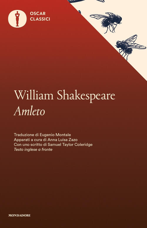 Amleto.Testo inglese a fronte - William Shakespeare Libro -