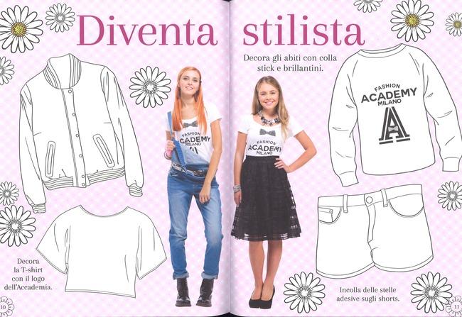 Il libro creativo maggie bianca fashion friends con for Disegni da colorare maggie e bianca