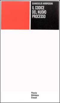 Image of (NUOVO o USATO) Il codice nel nuovo processo