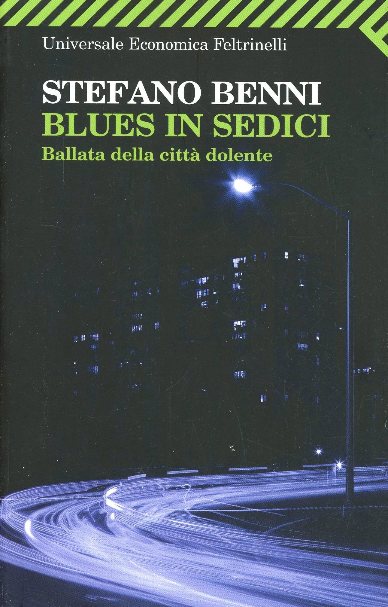 Image of Blues in sedici. Ballata della città dolente